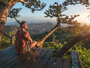 calming the mind with HeilÜben-exercises